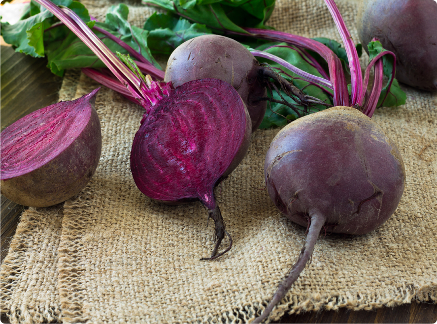 Beets and Burlap